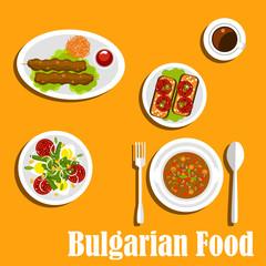 Bulgarian cuisine nutritious dinner dishes