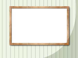 blank frame with art background