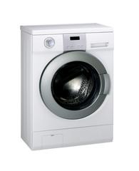 washing machine on white background,