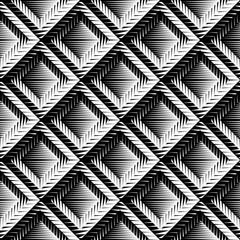 Design seamless diamond convex pattern