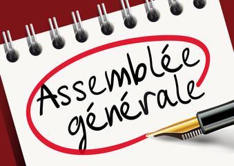 Assemblée générale - organisation