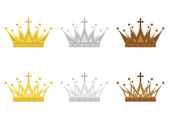 イラスト素材「王冠」