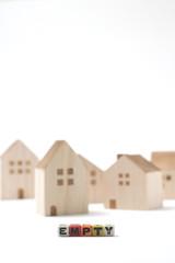 住宅  空き家 イメージ