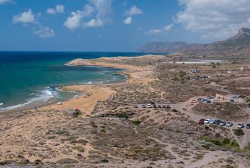 coastline of Calblanque Regional Park near Cartagena, Spain