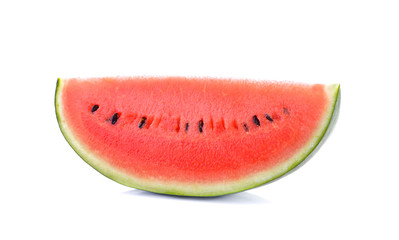 watermelon sliced  on white background