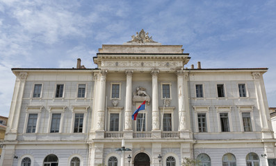 Piran Town Hall in Slovenia