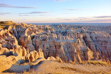Badlands National Park in South Dakota, USA