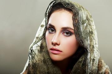 woman wearing hood