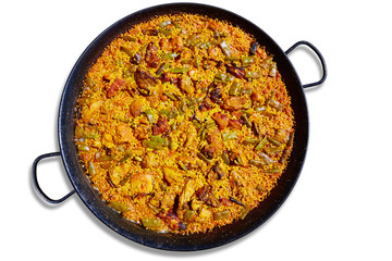 Paella from Spain rice recipe