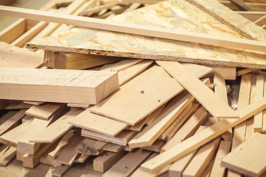 timber waste wood