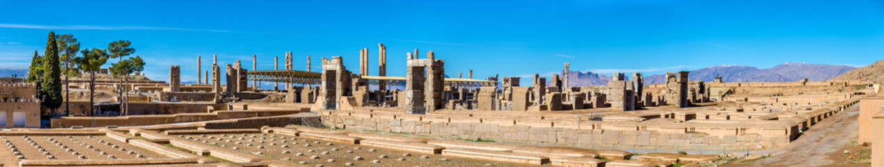 Ruins of Imperial Treasury at Persepolis, Iran