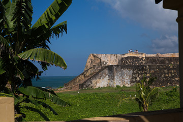 Fortification in Fort Galle