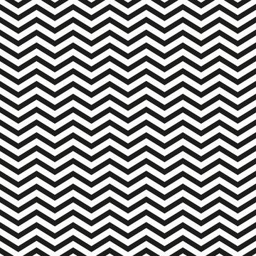 Zigzag pattern with black lines stylish illustration