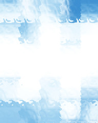Blue rectangular background