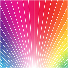 Abstract multicolor rainbow styled square vector background.