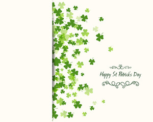 Vector Illustration of a Saint Patrick's Day Design