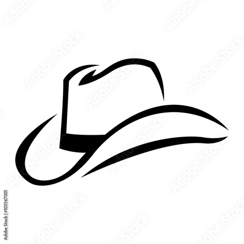 Quot Cowboy Hat Vector Quot Stock Image And Royalty Free Vector