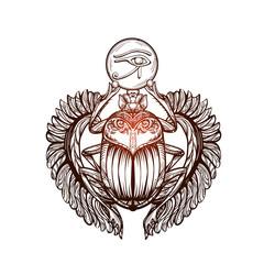 tattoo Scarab 3