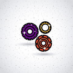 gears icon design