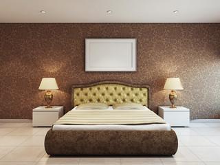 Спальня в жилом помещении
