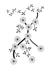 데이지 꽃의 장식