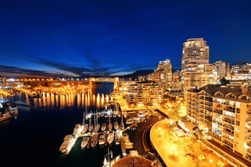 Wall Mural - Vancouver harbor view