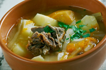 Belarusian traditional soup
