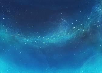 幻想的で美しい星空