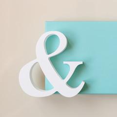 symbol with blue box