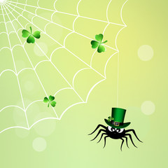 spider for St.Patrick's Day