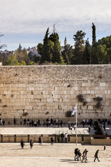 Western Wall and Temple Mount garden