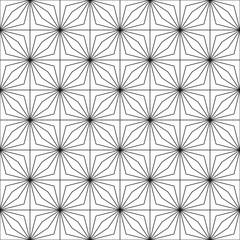 Seamless geometric pattern. Optical illusion