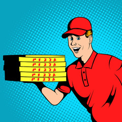 Pizza delivery guy comics
