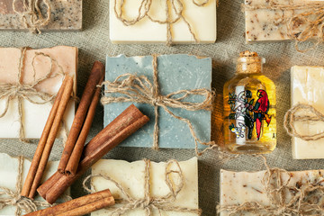 Organic handmade soap.