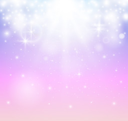 Abstract transparent sparkle glow light effect