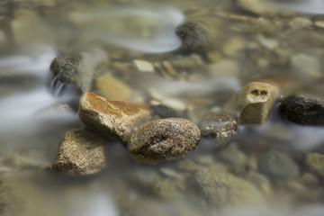 Rocks in a stream