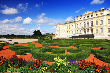 baroque palace Rundale