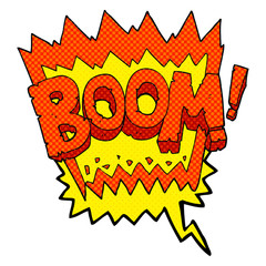 comic book speech bubble cartoon boom symbol