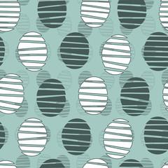 Seamless pattern stylish shapes.スタイリッシュなパターン