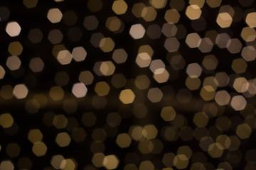 abstract background bokeh hexagonal blur