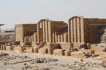 Ruins near Saqqara, Egypt