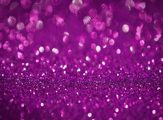 purple  glitter bokeh abstract background