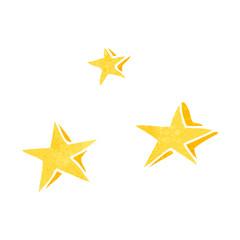 retro cartoon decorative stars doodle