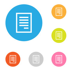 Icon of document