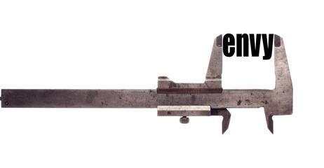Less envy metaphor