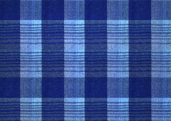 The blue and bluish checkered textured background with crossing gray dashed stripes