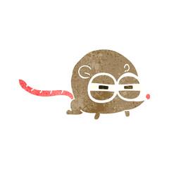 retro cartoon evil mouse