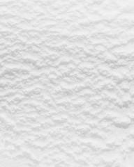 Oberfläche von weißem Speiseeis