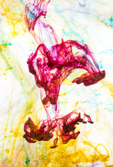 full of colours fantasies from India ink