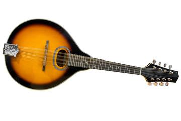 mandolin isolated on white background